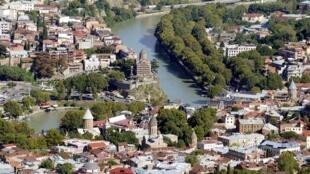 Tbilissi, la capitale de la Géorgie.