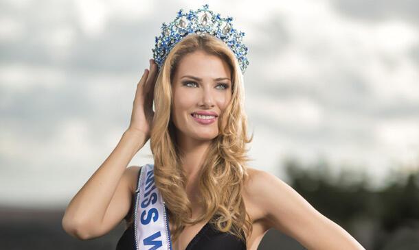 """Mireia Lalaguna giành vương miện """"Hoa hậu Thế giới 2015"""" - DR"""