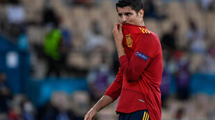 Alvaro Morata missed Spain's best chance in the goalless draw with Sweden on Monday