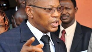 Mohamed Ibn Chambas, président de la Commission de la Communauté économique des Etats de l'Afrique de l'Ouest (CEDEAO).