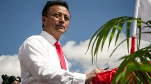 L'ex-président malgache Marc Ravalomanana, le 25 août 2018.
