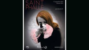 L'affiche de l'exposition de Niki de Saint Phalle au Grand Palais.