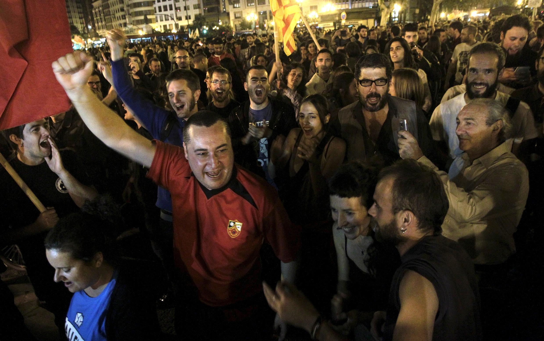 Valence, Espagne, le 25 mai 2015.