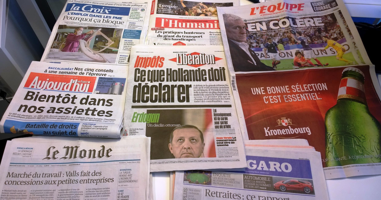 Diários franceses 09/06/2015