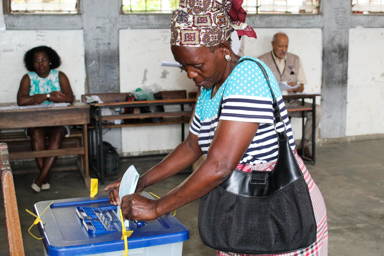 Eleições autárquicas de 10 de Outubro de 2018. Maputo.