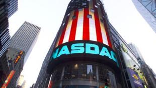 美国纳斯达克股票交易所标识
