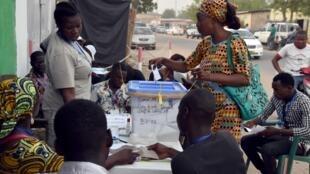 Tchad - Ndjamena - Vote