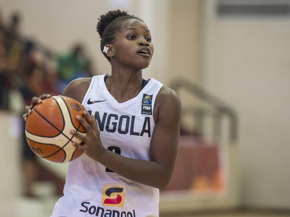 Rosa Gala (Ang) Angola vs Tunísia. 2017, Fiba Afrobasket