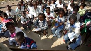 Escola no Huambo, Angola. Imagem de arquivo.