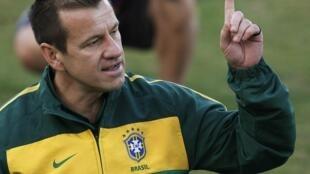 O treinador Dunga.