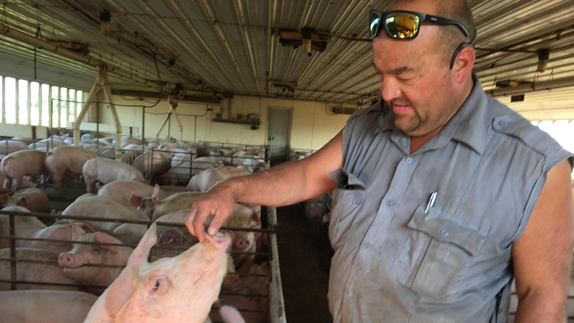 Dough Jenkins, éleveur à Winnebago et actionnaire de Corn Plus.