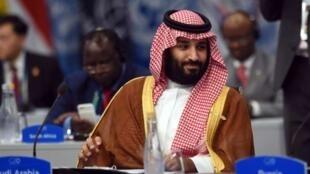沙特王储萨勒曼在阿根廷20国集团峰会上    2018年12月