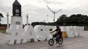 Manille, le 2 août. Les Philippines président l'Association des nations du Sud-Est asiatique (Asean) en 2017, année de son cinquantenaire.