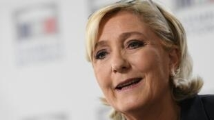 Marine Le Pen, leader of France's far-right National Rally party, said her party will party will be insolvent by September 2018 if an appeal of a decision to withhold two million euros in public subsidies fails