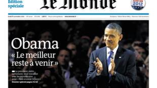 Capa do jornal francês Le Monde desta quarta-feira, (07)