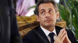 Former president Nicolas Sarkozy