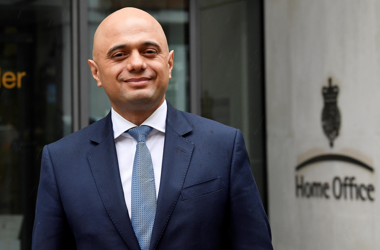 Sajid Javid, nouveau ministre de l'Intérieur britannique.