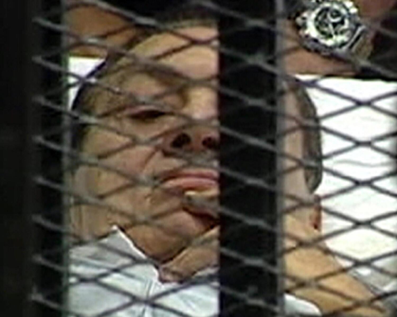 حسنی مبارک  روز چهارشنبه در دادگاه