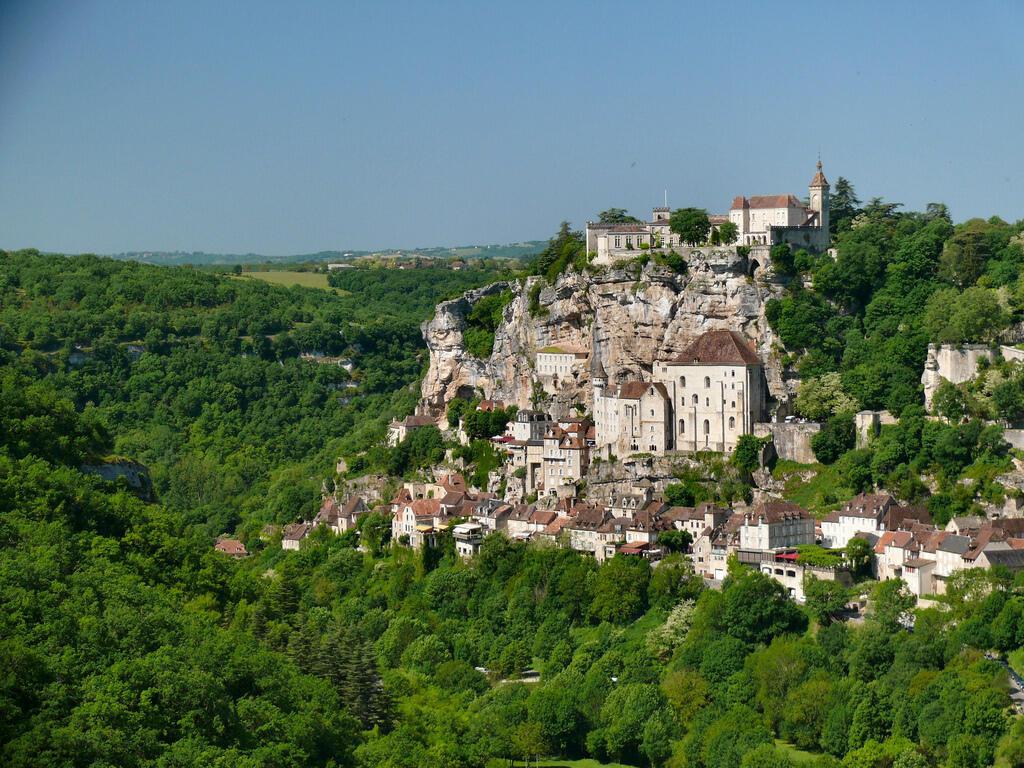 法國旅遊觀光和朝聖聖地羅卡馬杜爾(Rocamadour)