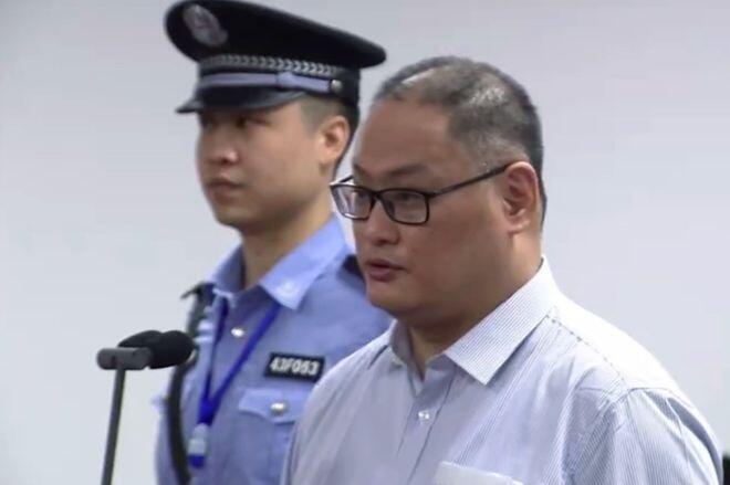 台湾非政府组织工作者李明哲在中国法庭出庭受审 2017年9月11日