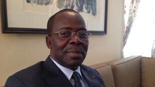 Le Premier ministre centrafricain, André Nzapayéké, à Paris.