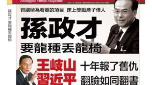 《中國密報》第60期封面