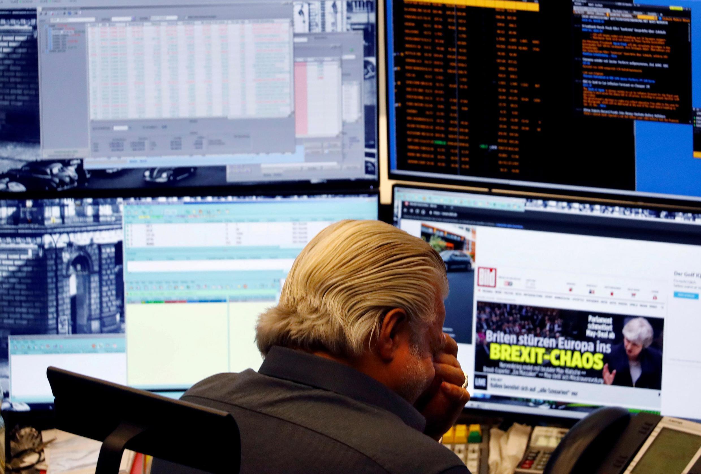 Các doanh nghiệp ở Anh cũng như châu Âu đang đau đầu để ứng phó với hệ quả của Brexit đang tới gần. Ảnh minh họa chụp tại thị trường chứng khoán Frankfurt, Đức, ngày 16/01/2019.