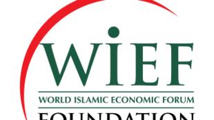 Logo du Forum économique mondial de la finance islamique.
