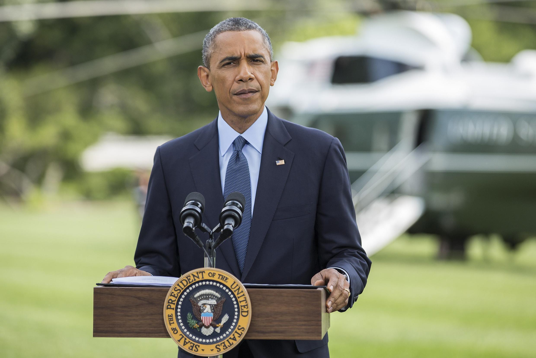 O presidente americano Barack Obama anuncia novas sanções contra a Rússia