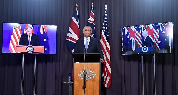 英澳美三國領導人資料圖片