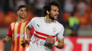 Le joueur de Zamalek, Mahmoud Alaa.