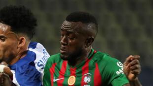 Le Camerounais Joël Tagueu.