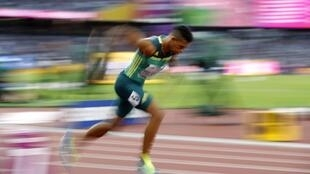 Wayde van Niekerk is attempting to win back-to-back titles in the 400m at the world championships.