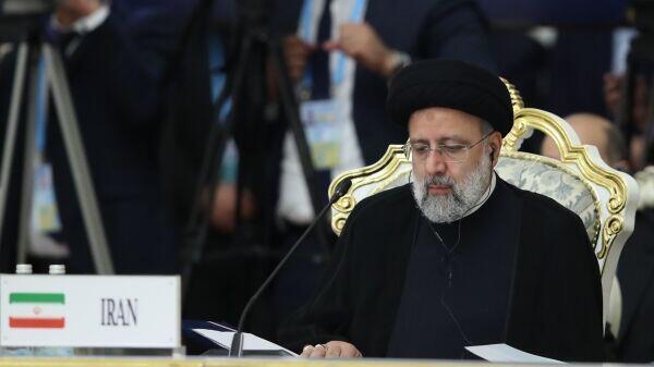 Ebrahim Raissi-prsident iranien au Tadjikistan