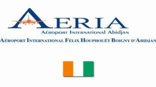 Logo de l'aéroport d'Abidjan.