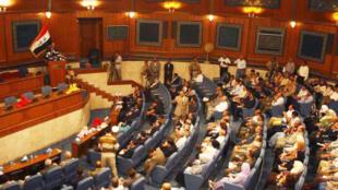 پارلمان عراق در بغداد