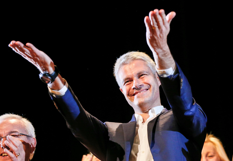 Новый глава французских правых Лоран Вокье, глава региона Овернь-Рона-Альпы и бывший министр высшего образования и научных исследований.