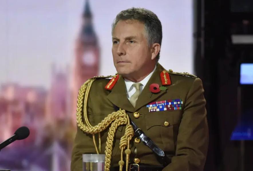 英國國防參謀長尼克·卡特資料圖片