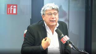 Éric Coquerel, coordinateur du Parti de gauche, député de la première circonscription de Seine-Saint-Denis sur RFI, le 04/11/19.