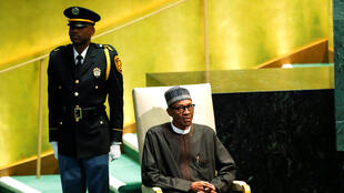 Le président nigérian Muhammadu Buhari le 20 septembre 2016 à New York.