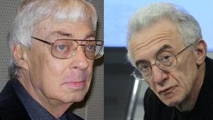 Борис Пустынцев и Валентин Гефтер