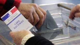 Hơn 44 triệu cử tri Pháp được kêu gọi tham gia cuộc bỏ phiếu bầu tổng thống 2012