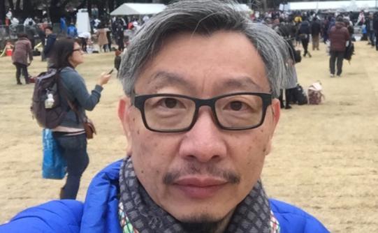 前《蘋果日報》主筆、英文版執行總編輯馮偉光資料圖片