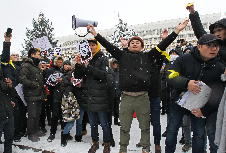 25 ноября в Бишкеке прошел митинг против коррупции.