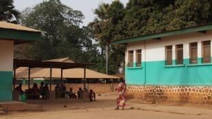 L'hôpital MSF.