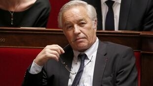 France's Labour minister, François Rebsamen at the National Assembly, March 18 2015