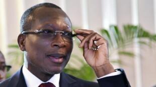 Le président du Bénin Patrice Talon en 2017.