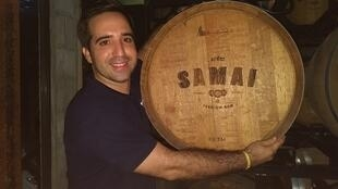 Daniel Pacheco, co-fundador de Samai. Camboya, noviembre de 2018.