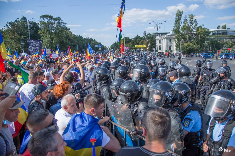 Plus de 450 personnes ont été blessées et une trentaine interpellées lors d'une manifestation contre le gouvernement de gauche qui a dégénéré, vendredi 10 août 2018, à Bucarest.