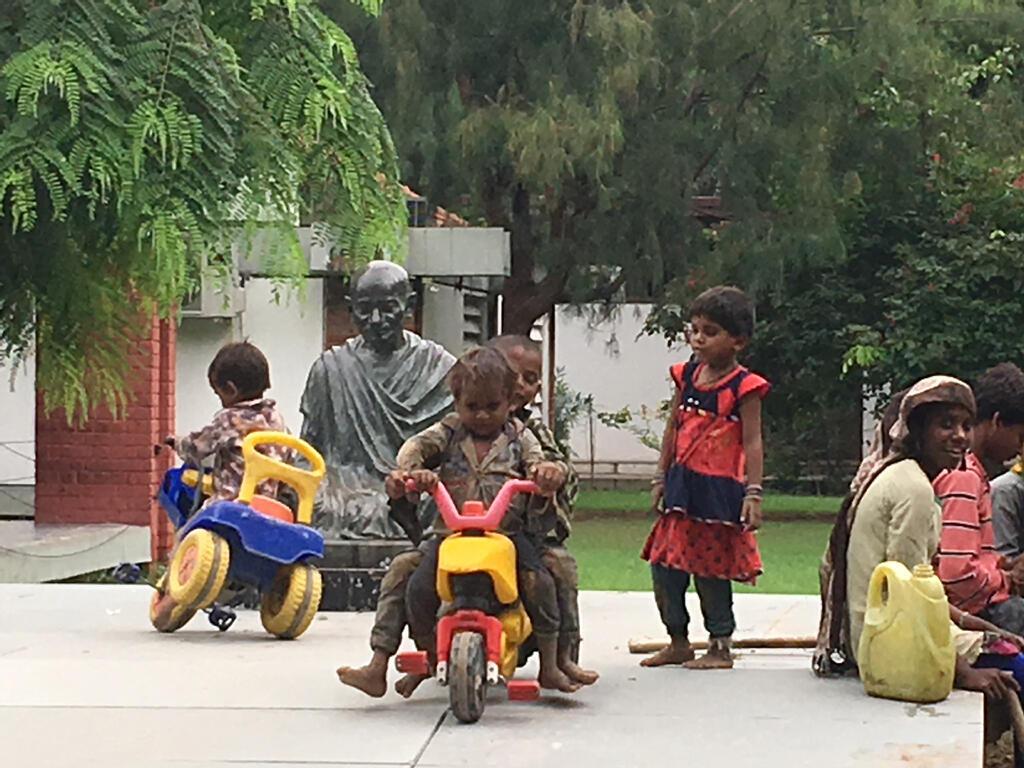 Ashram de Gandhi devenu Musée à Ahmedabad.